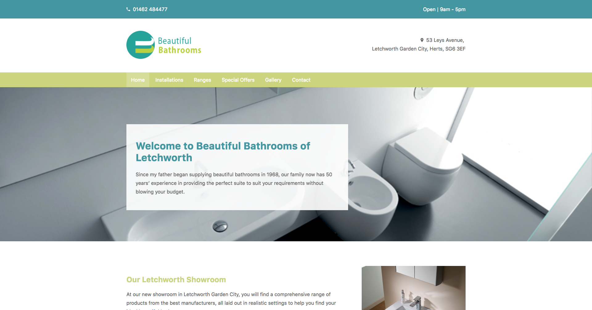 Beautiful Bathrooms Letchworth portfolio | search it local limited